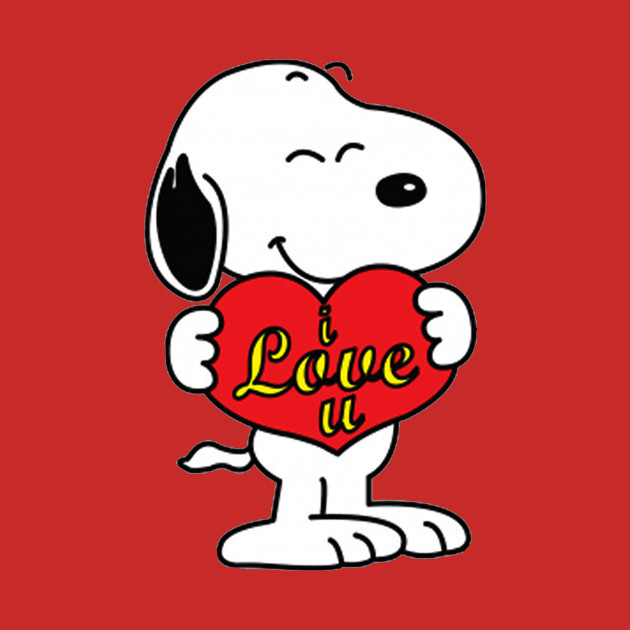 Snoopy Love - Charliebrown - T-Shirt