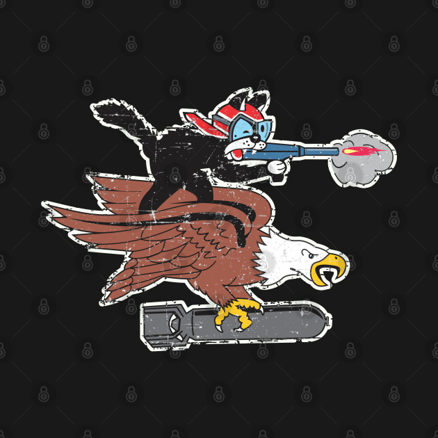 319th Fighter Squadron - Grunge Style