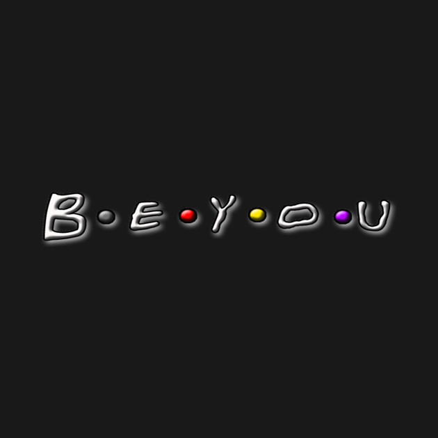 Be You Friends - Black
