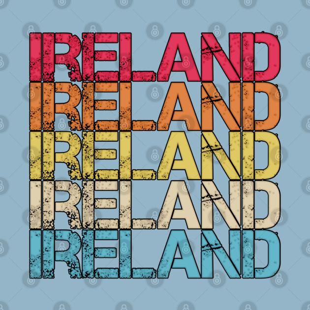 Ireland Retro Vintage Distressed Country Souvenir Gift