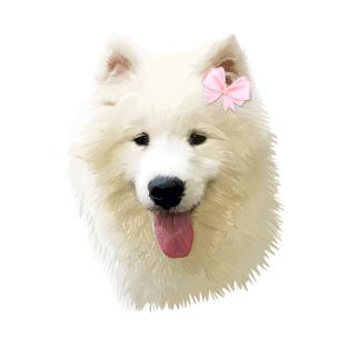 Sweet Samoyed Dog T-Shirt