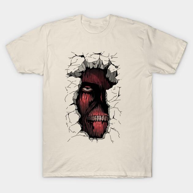 Titan Face - T-Shirt | TeePublic