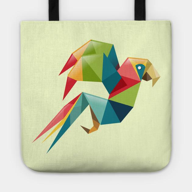 Parrot Origami