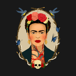 f0d4c61ec T-Shirts Featuring Frida Kahlo and More Artists | TeePublic