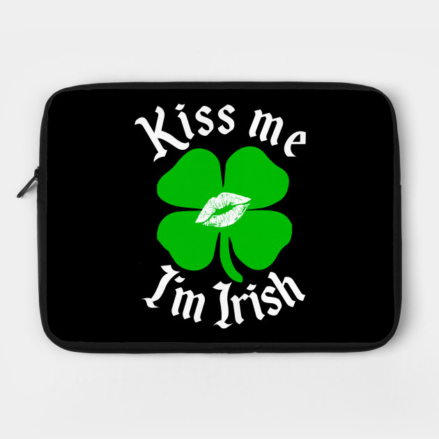 Kiss Me I'm Irish T-Shirt St. Patrick's Day Paddy Drinking Party Tee Gift