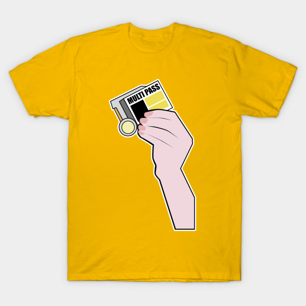 9b294b46 Multipass? - Fifth Element - T-Shirt   TeePublic