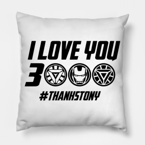 I Love You 3000 Meaning Pillows | TeePublic