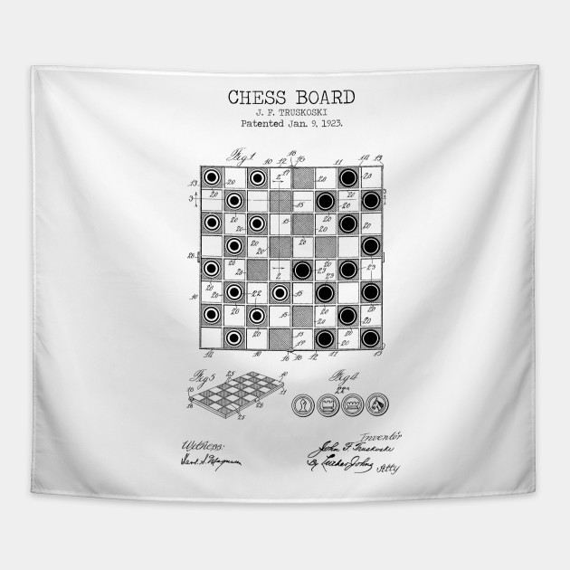 picture regarding Printable Chess Board titled CHESS BOARD