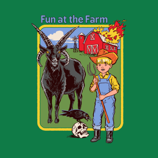 Fun at the Farm t-shirts
