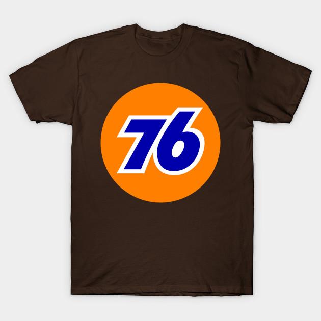 Union 76 Oil Petrol Retro T-Shirt S-5XL Choose Color