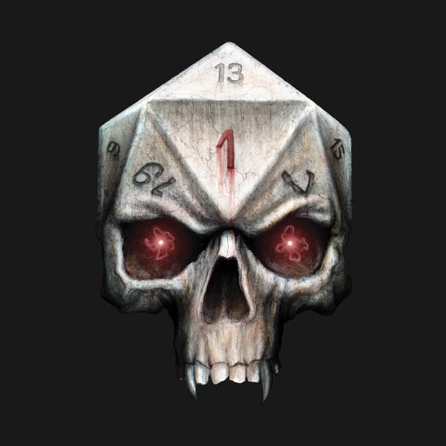 Skull D20