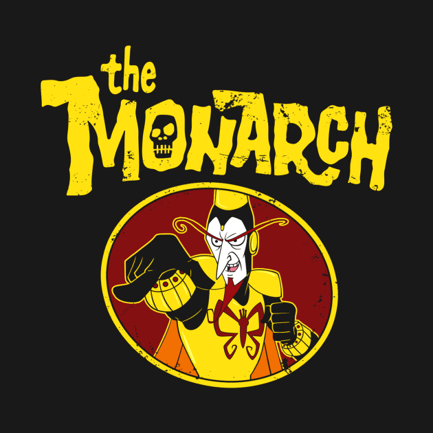 The Mighty Monarch (For Dark Shirts)