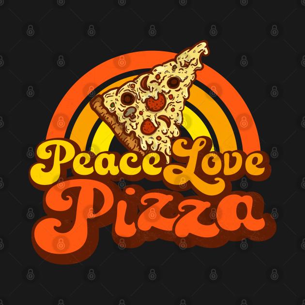 PEACE LOVE PIZZA - Gooey Groovy Pizza