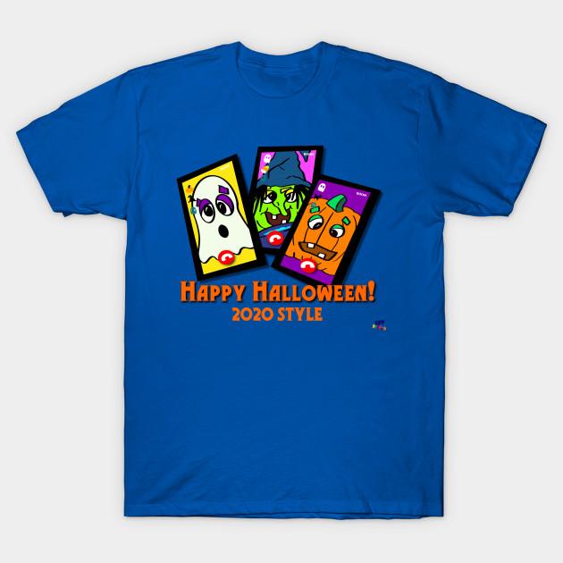Different Version Of Halloween 2020 Halloween 2020 Style   Color Version   Halloween   T Shirt   TeePublic