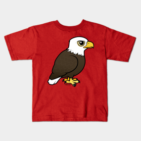 Birdorable Bald Eagle Kids T Shirt
