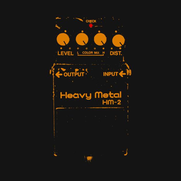 Chainsaw Guitar Pedal (Boss HM-2)