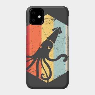 Vintage Kraken attacking ship illustration iphone 11 case