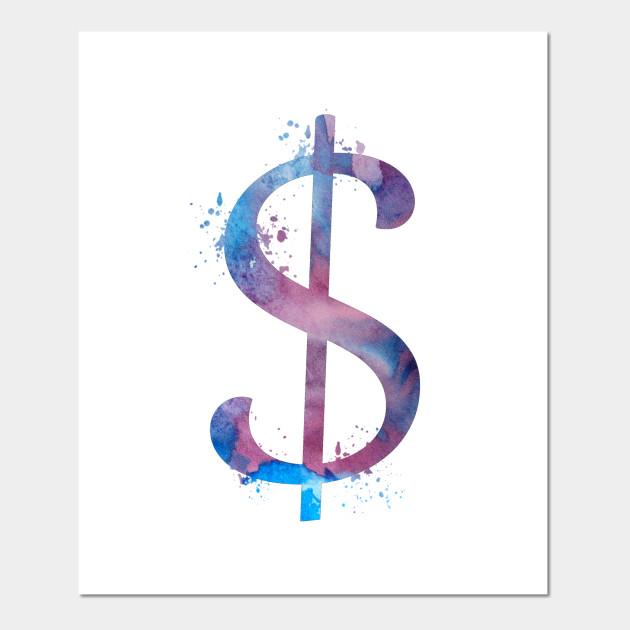 Dollar Sign Dollar Sign Posters And Art Prints Teepublic
