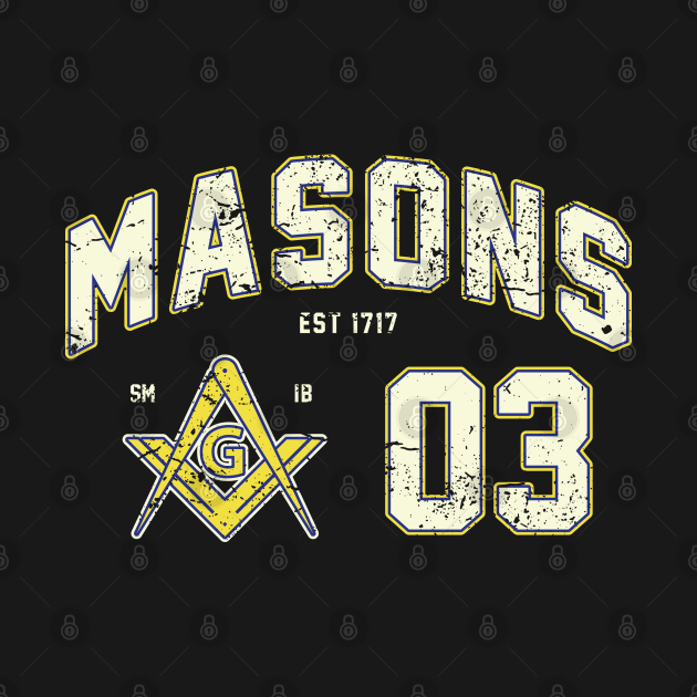 Masons Sporty Jersey Style Masonic Freemason