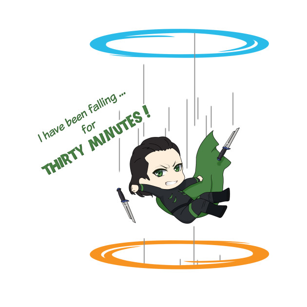 Loki across Portal (mashup)