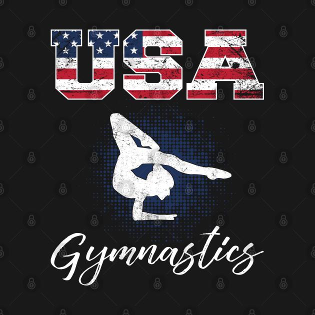 American Flag Gymnastics 4th of July