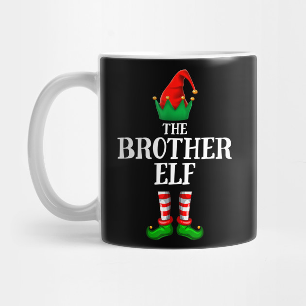 Brother Elf Gift Christmas Party Pajama Mug