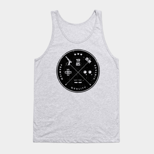 Hipster Nes Logo Hipster Tank Top Teepublic