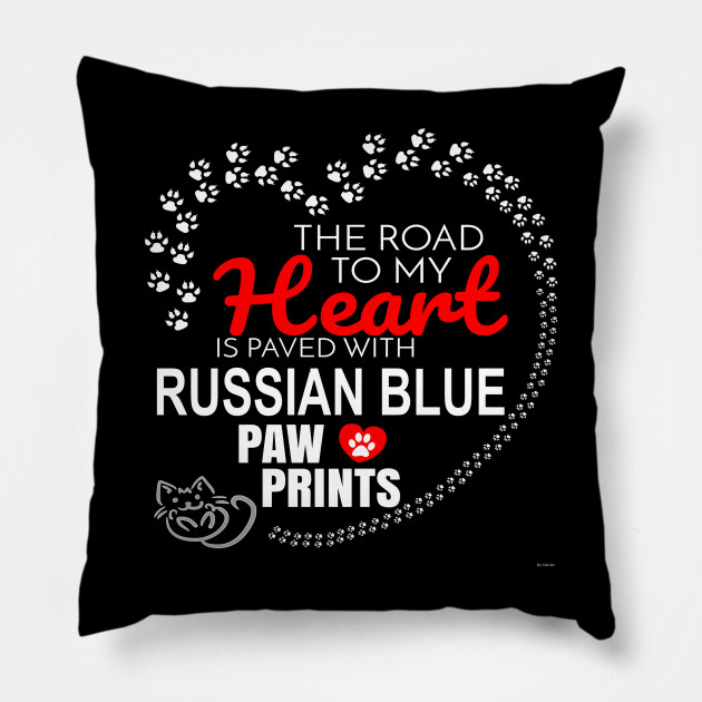 My Russian Blue Paw Prints - Gift For Russian Blue Parent