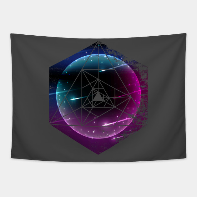 Cool Outer Space Abstract