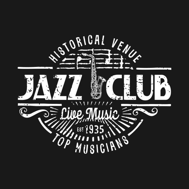 Retro Jazz Club Vintage Style