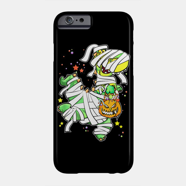 Halloween Mummy Pumpkin Dinosaur Phone Case