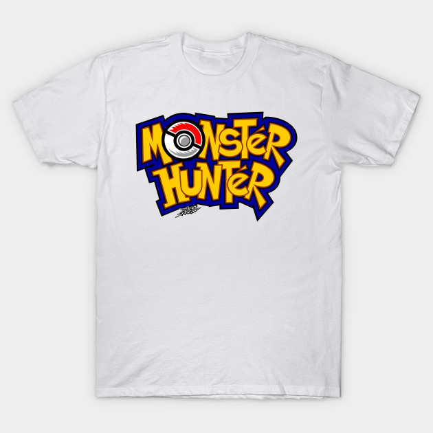 6070332d MONSTER HUNTER - Pokemon - T-Shirt | TeePublic
