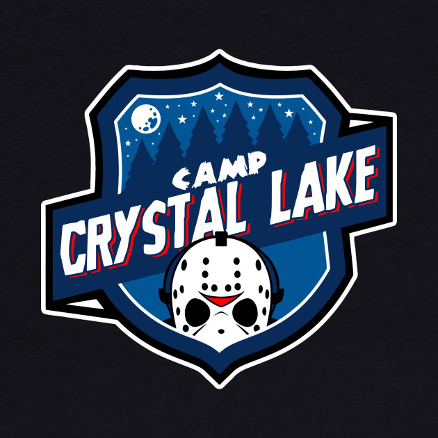 Camp Crystal Lake Badge