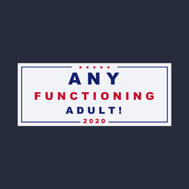 Any Functioning Adult 2020 a la 2016