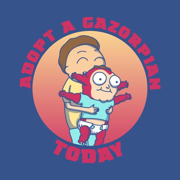 Adopt A Gazorpian Today T-Shirt