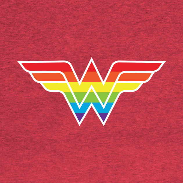 Wonder Woman Gay Pride