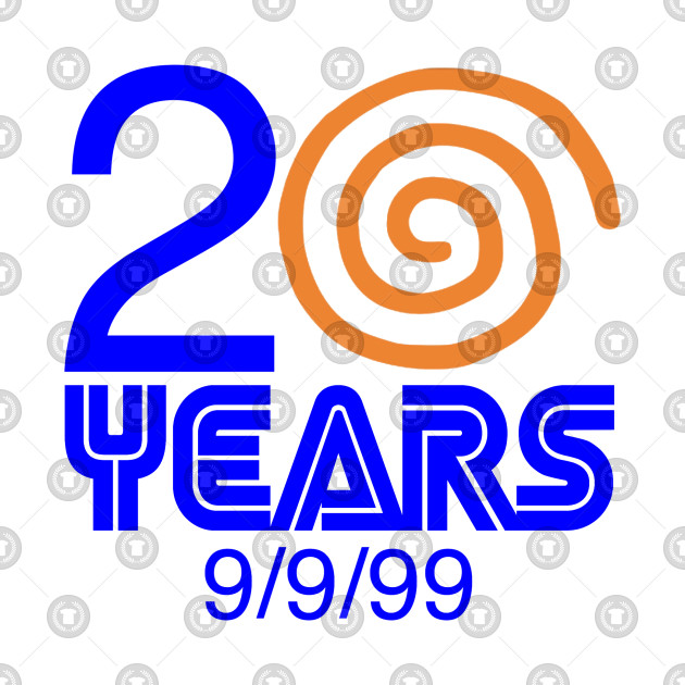 Sega Dreamcast 20 Year Anniversary