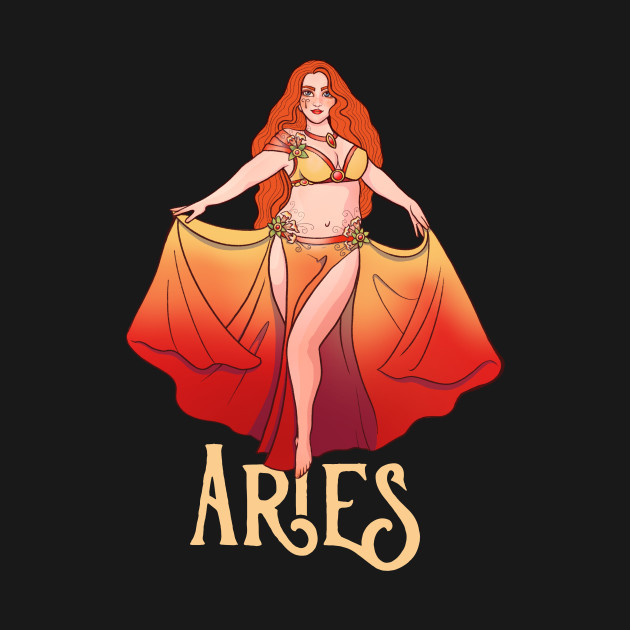 Aries belly dancer