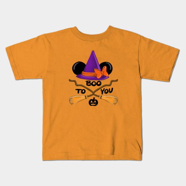 88a87a62 Boo To You - Minnie Mouse - Kids T-Shirt   TeePublic