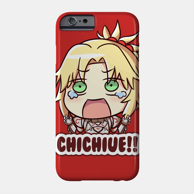 Mordred Chichiue Fate Grand Order Mordred Phone Case Teepublic