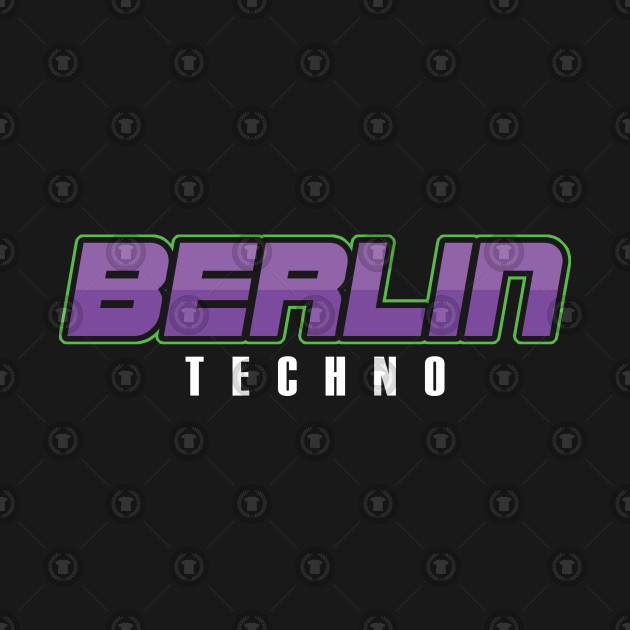 Berlin Techno Music Techno Station Travel Music Lovers EDM Electronic Dance  Gift by psykograf