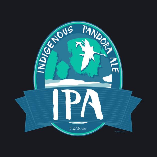 IPA - Indigenous Pandora Ale - AVATAR Land Inspired Shirt