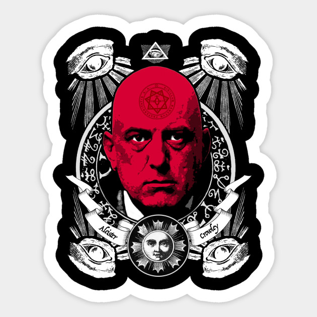 Aleister Crowley T Shirts Aleister Crowley Sticker Teepublic