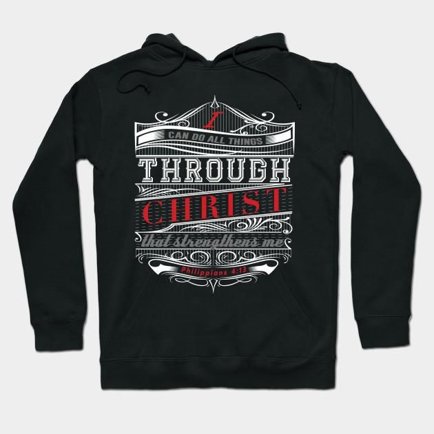 8258a8b4152 I Can Do All Things Through Christ Bible Verse Design T-Shirt - I ...