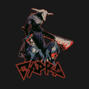 Capra Demon: Unofficial Dark Souls Metal Band Tee