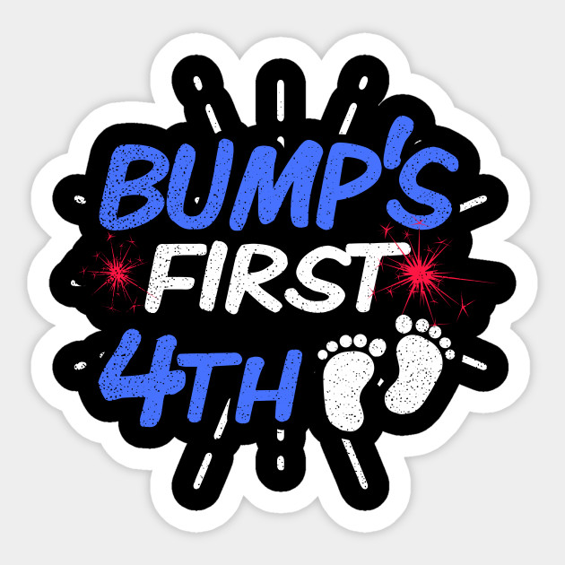 d3e1836aa7700 Bumps First 4th Of July Shirt | Pregnancy Announcement - Pregnancy ...