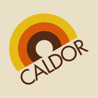 CALDOR Department Store Rainbow Logo