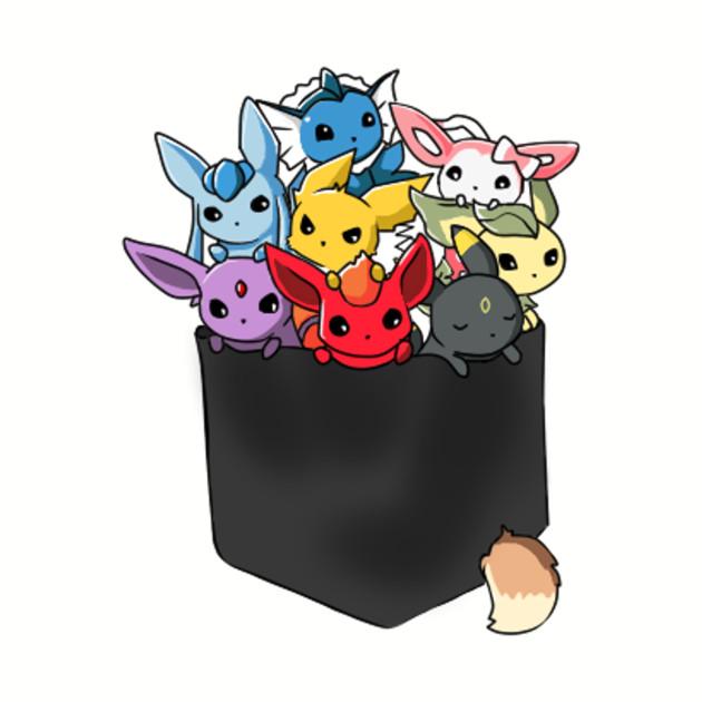 Eeveelutions Pocket - Eevee Pokemon