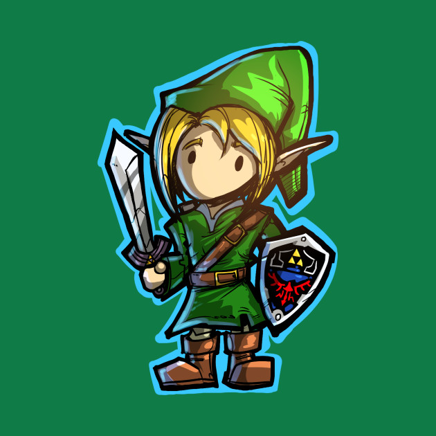 Magical Dungeon Hero Exploring Kid! (Green)
