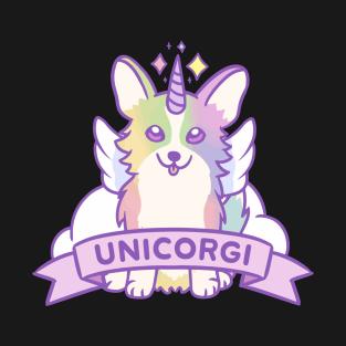 Unicorgi t-shirts